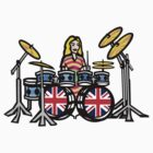 Girl Drummer by fineline