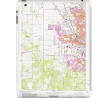 USGS Topo Map Oregon Eugene West 279831 1967 24000 iPad Case/Skin