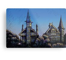 Witches' Houses, Johnston St, Annandale Metal Print
