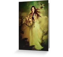 Demeter Goddess of the Harvest Greeting Card