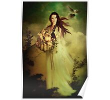 Demeter Goddess of the Harvest Poster