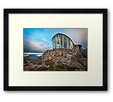 Mt Wellington Lookout, Tasmania, Australia Framed Print