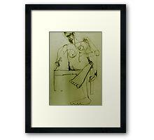 lazy saturday Framed Print