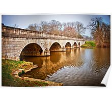 Bridge at Virginia Water, Windsor, UK. Poster