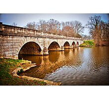 Bridge at Virginia Water, Windsor, UK. Photographic Print