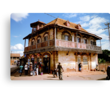 A house in Ambalavao Canvas Print