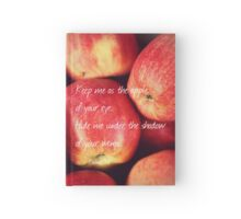 Apple of Your Eye  Hardcover Journal