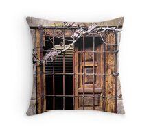 Garden Window - Yengo Estate - Mt Wilson NSW Throw Pillow
