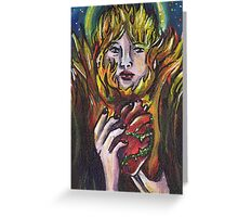Sacred Flame Greeting Card