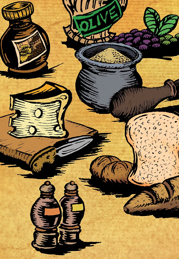 Mediterranean Foods Part One by robertemerald
