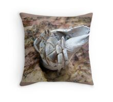 Hermit the Crab Throw Pillow