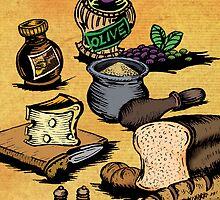 Mediterranean Foods Part Two by robertemerald