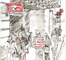 Red Objects in London-2011 by Artistuk
