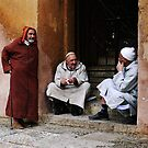 Waiting for the Kasbah to open by Jodi Fleming