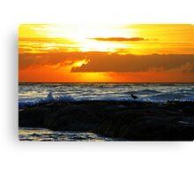 Surreal Sunrise Canvas Print