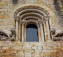 Window with lions by Esther  Moliné