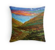 Mourne Abstract 2 Throw Pillow