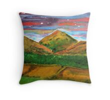 Mourne Abstract 4 Throw Pillow