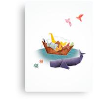 Origami Ark Canvas Print