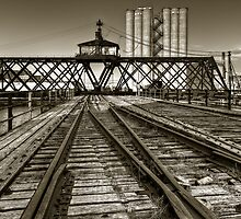 Milwaukee River Swing Bridge by DavidHoefer