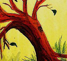 Renewed Season of Hope, watercolor by Anna  Lewis
