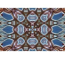 Blue and Brown Photographic Print