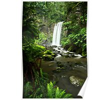 Hopetoun Falls, Great Otway National Park Poster