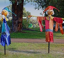The Balingup Scarecrows by Elaine Teague