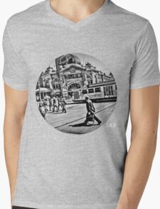 Flinders Mens V-Neck T-Shirt