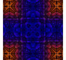Blue Rust Photographic Print