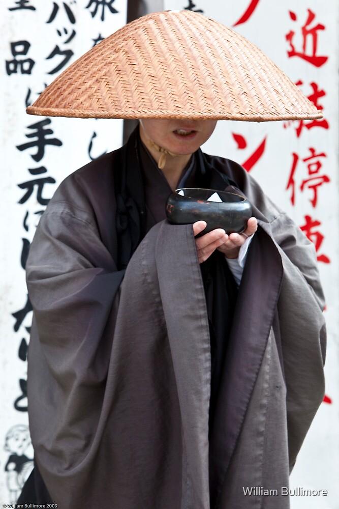 Buddhist Monk • Kiyomizu-dera • Japan by William Bullimore
