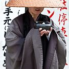 Buddhist Monk • Kiyomizu-dera • Japan by William Bullimore