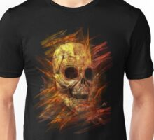 Skeleton in Flames Unisex T-Shirt
