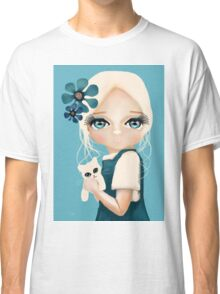 Snow Kitten Classic T-Shirt