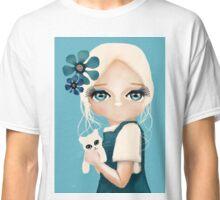 Snow Kitten Classic T-Shirt