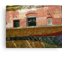 Wire Works Coffee House Canvas Print