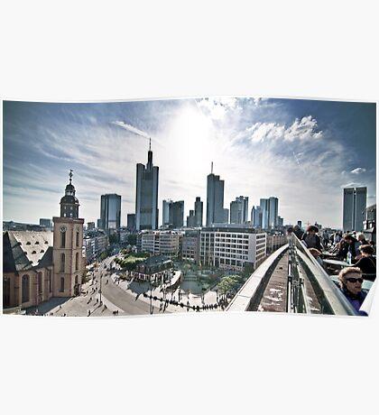 Urban Frankfurt. Poster