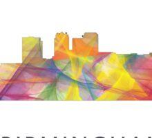 Birmingham Alabama Skyline WB1 Sticker
