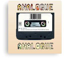 Cassette Tape Analogue Cartoon 1 Canvas Print