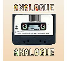 Cassette Tape Analogue Cartoon 1 Photographic Print