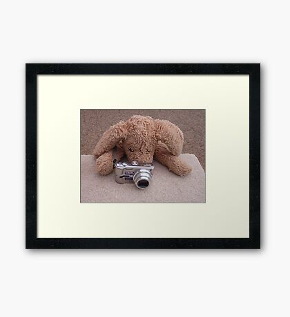 Smile please... Framed Print