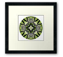 Spring Serenade Mandala Framed Print