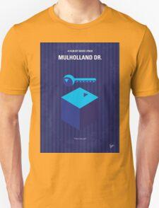 No323 My MULHOLLAND DRIVE minimal movie poster Unisex T-Shirt