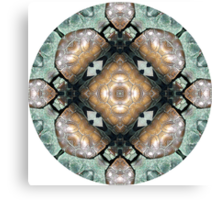 Frog Mandala Canvas Print