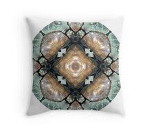 Frog Mandala Throw Pillow