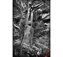 Father Forgive Me Photographic Print