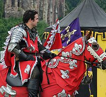 The Red knight, Joust 2006 by buttonpresser