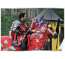 The Red knight, Joust 2006 Poster