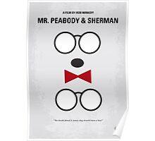No324 My Mr Peabody minimal movie poster Poster