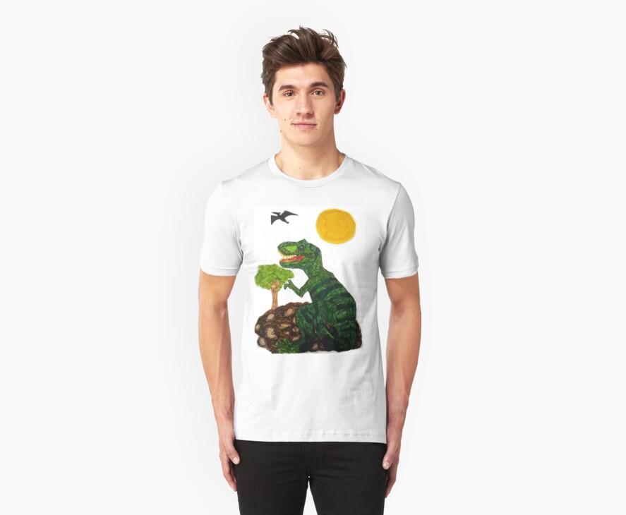 t rex shirt  by Alexander589